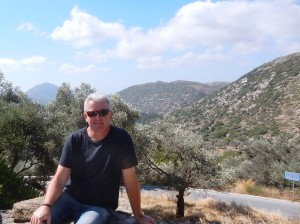 Me in Naxos countryside